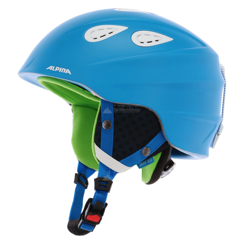 Alpina Grap 2 0 ski helmet blue matt