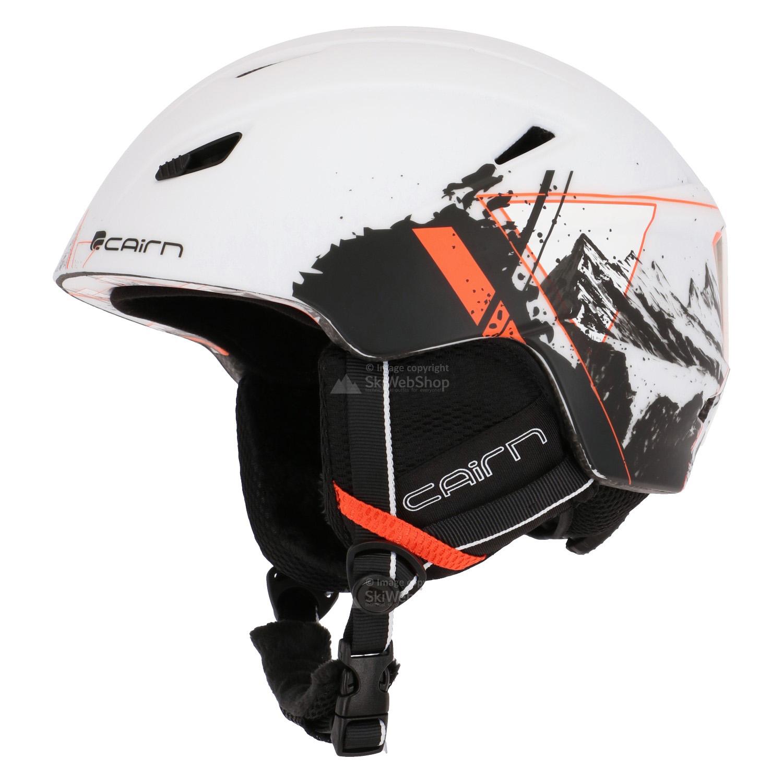 cairn profil skihelm mat wit summits 01 1046