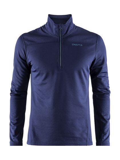 Craft, Pin half zip, pullover, men, blue