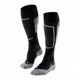 Falke, ski socks grey/black