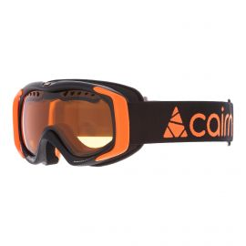 Cairn, Booster goggles kids mat black, orange
