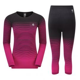 Dare2b, In the zone base layer thermal set women active pink