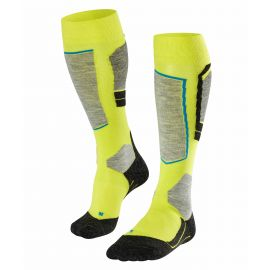 Falke, Falke Sk4 ski socks men limepunch yellow