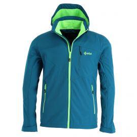 Kilpi, Milo-M softshell ski jacket men turquoise blue