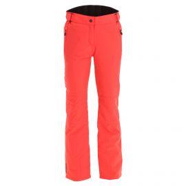 Maier Sports, Vroni Slim ski pants plus size women hibiscus red