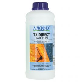 Nikwax, TX. Direct Wash-in, 1 liter, impregnation for your ski and outdoor clothes, maintenance product