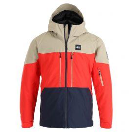 Picture, Picture Object Jkt ski jacket men dark blue/red