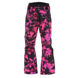 Rehall, Latoya-R-Jr ski pants kids popart camo fuchsia pink
