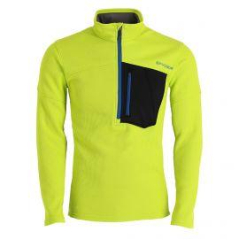 Spyder, Bandit Half Zip sweater men lime green