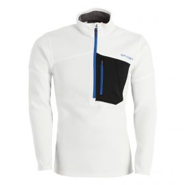 Spyder, Bandit Half Zip sweater men white