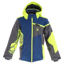 Spyder, Challenger ski jacket kids abyss blue