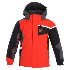 Spyder, Challenger ski jacket kids volcano red