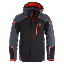Spyder, Copper GTX ski jacket men ebony grey/black