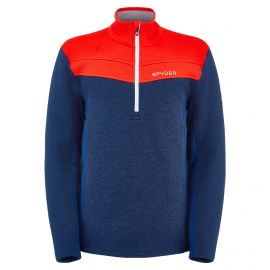 Spyder, Encore Half Zip sweater men abyss blue