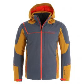 Spyder, Titan GTX ski jacket men ebony brown/grey