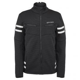 Spyder, Wengen Encore Full Zip jacket men abyss black