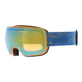 Uvex, Compact FM goggles mat blue/yellow