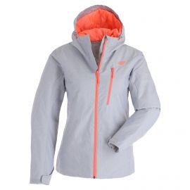 4F, H4Z20-KUDN003 ski jacket women cold light grey