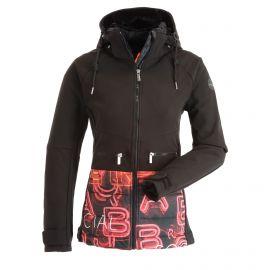 Icepeak, Ely softshell ski jacket women dark black