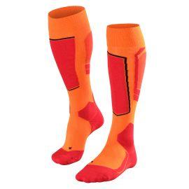 Falke, SK4 ski socks men flash orange