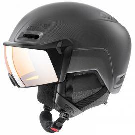 Uvex, Hlmt 700 visor ski helmet with visor black