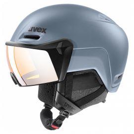 Uvex, Hlmt 700 visor ski helmet with visor blue