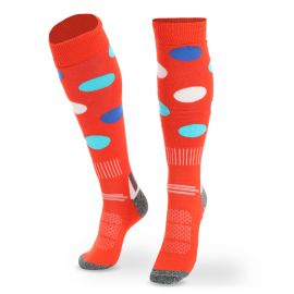 Deluni, Joyride Dots ski socks orange