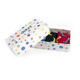 Deluni, Socks in a Box Joyride Mix (giftbox) ski socks multicolor