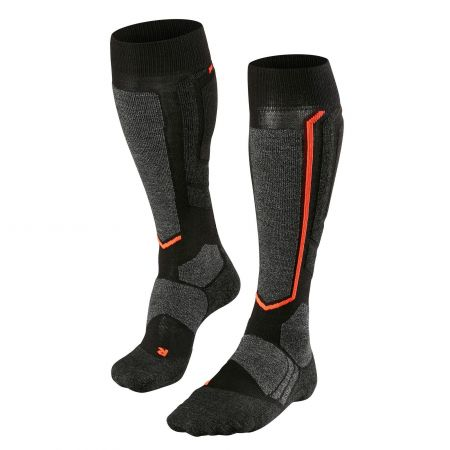 Falke, ski socks black