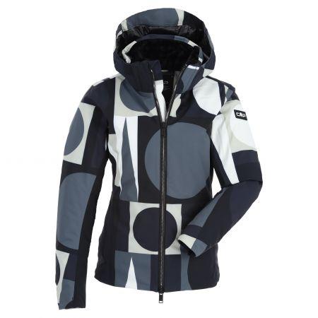 CMP, 30W0766 ski jacket slim fit women multicolor white/black