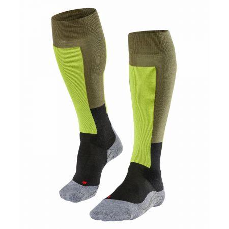 Falke, Falke Sk2 Retro ski socks men thyme green
