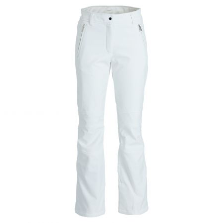 Icepeak, Entiat softshell ski pants slim fit women optical white