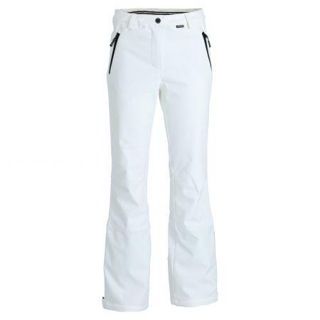 Icepeak, Frechen softshell ski pants short model women optical white