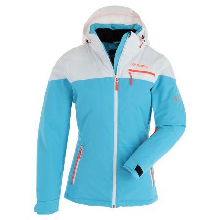 Maier Sports, Coral Flash ski jacket plus size women cyan blue