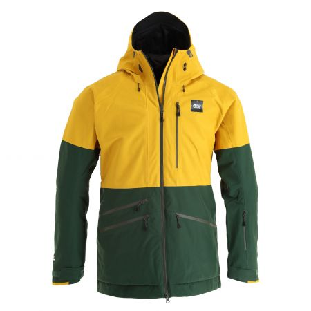 Picture, Stone Jkt ski jacket men safran yellow