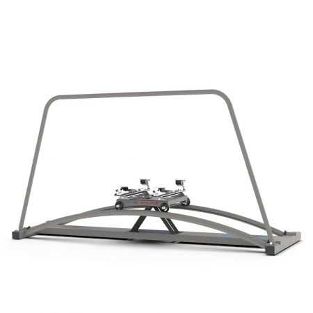 Power Ski Simulator, grey