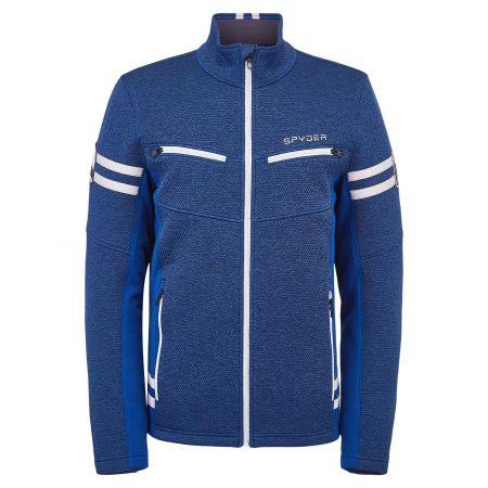 Spyder, Wengen Encore Full Zip jacket men abyss blue