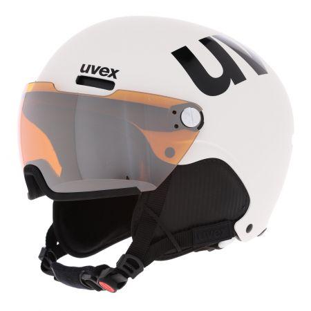Uvex, Hlmt 500 Visor ski helmet with visor unisex mat white