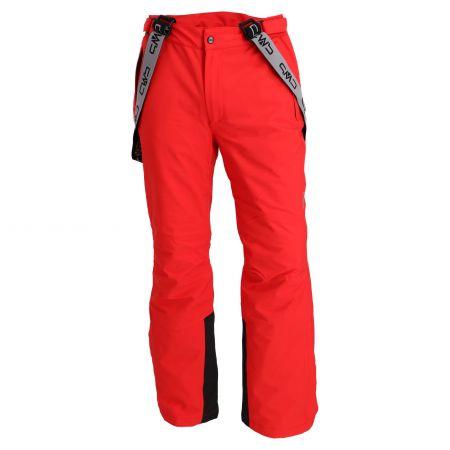 CMP, ski pants men ferrari red
