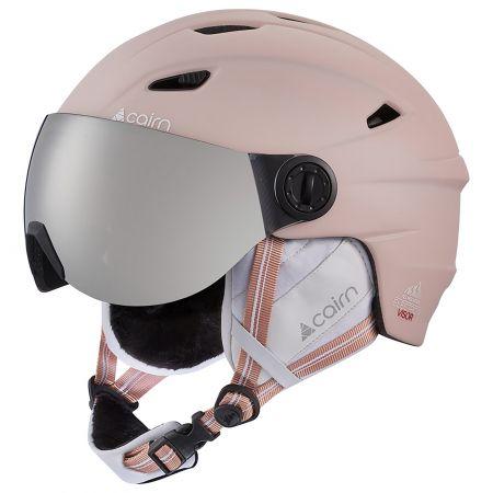 Cairn, Electron Visor SPX3000 CAT. 3 ski helmet with visor powder pink
