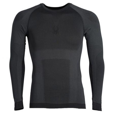 Spyder, Momentum baselayer top, thermal shirt, men, black