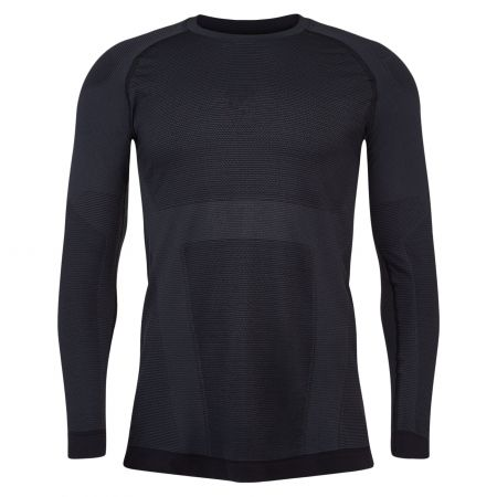 Spyder, Momentum baselayer top, thermal shirt, men, black