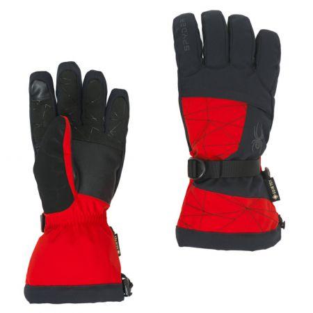Spyder, Overweb GTX ski glove, ski gloves, volcano red