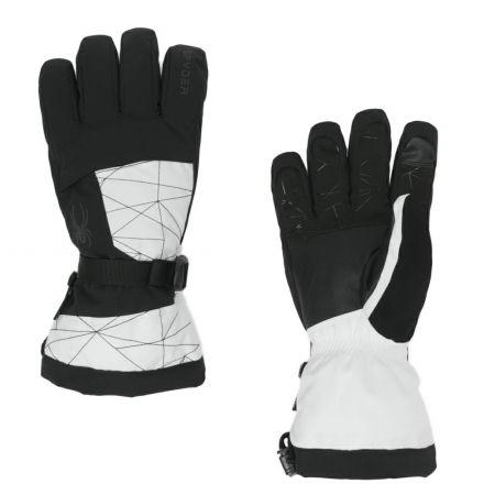 Spyder, Overweb GTX ski glove ski gloves men white