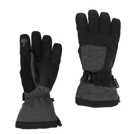 Spyder, Overweb GTX ski glove ski gloves men ebony grey
