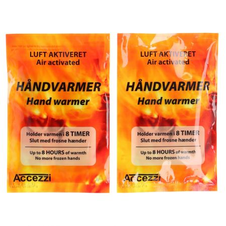 Accezzi, handwarmers, 5 pair