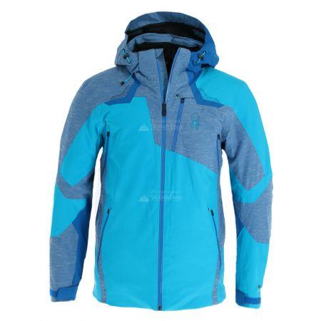 Spyder, Leader GTX, ski jacket, men, lagoon blue