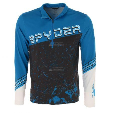 Spyder, Mandate zip T-neck, pullover, men, old glory blue