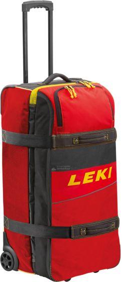 Leki, Travel Trolley, red