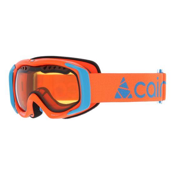 Cairn, Booster goggles kids neon blue, orange